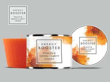 Award Winning Packaging Design for CANDLES!