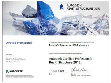 Revit Structure 2015 Certified Professional