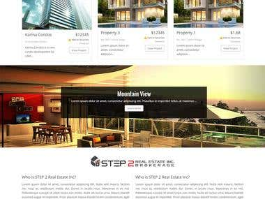 Real Estate Site - Wordpress