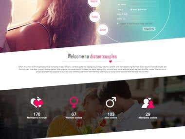 Dating Site - CodeIgniter
