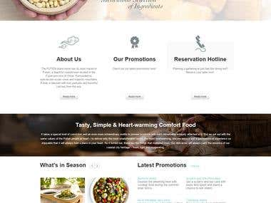 Restaurant Site - Wordpress