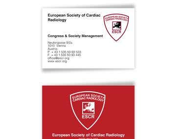 ESCR Business card for 2015/16