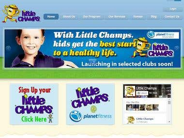 http://littlechamps.co.za (Kids Play School) Wordpress