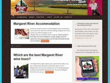 Margaret River Guide Margaret River accommodation website,