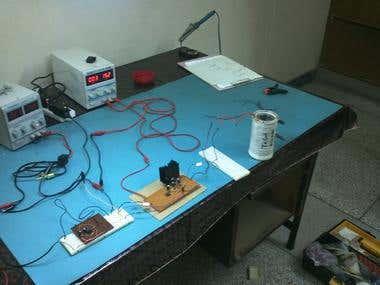 25Hz Transmitter Coil
