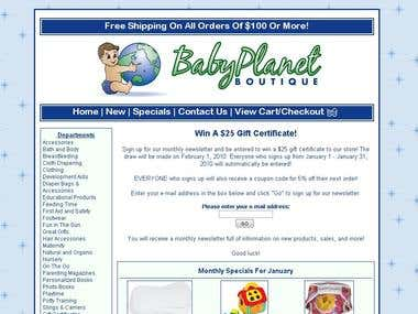 Baby Planet Boutique