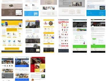 Mock up design