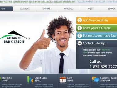 Alliance Bank Credit Website