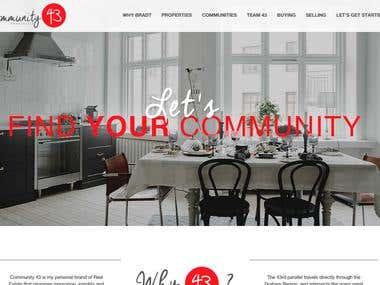community43 website