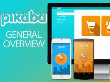 iOS / Android / Web | Pikaba Platform - Overview