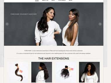 Forevhair Extensions Project