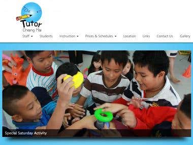 TutorChiangMai Website