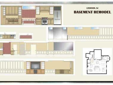 Linwood NJ Basement Remodel Presentation