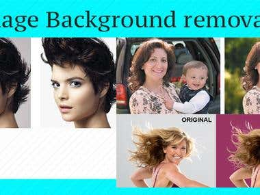 Background image removal ( Extream photoshop talent )