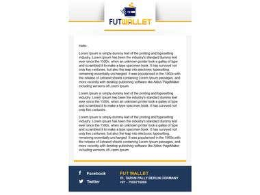 Email newsletter futwallet