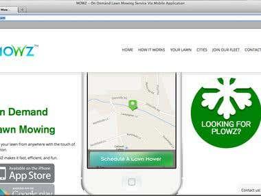 Mowz Web Application