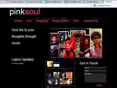 pink soul website