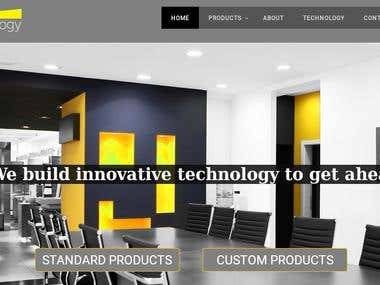 Website +SEO for a B2B Custom LED Lighting Company