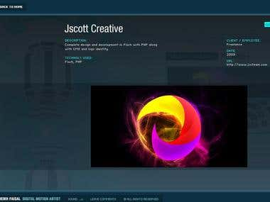 Jscott Website