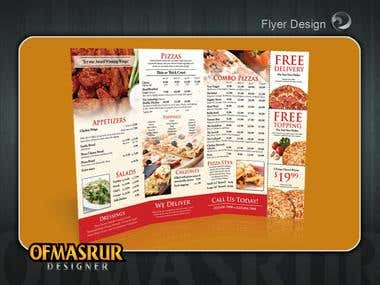 Flyer/menu Design