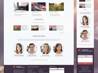 Poradnia Psychologiczna - Responsive Web Layout