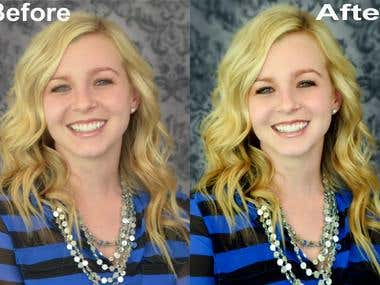 Photo Retouching and color correction