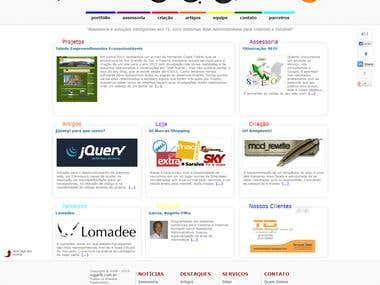 Site of rogarfil.com.br