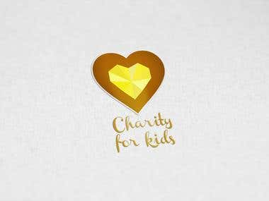 Charity for Kids logo