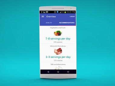 Health Android App