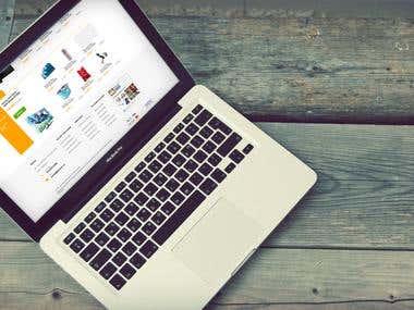 Pibook - Ecommerce site