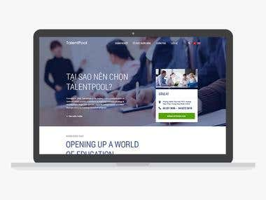 Talentpool Website