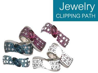 CLIPPING PATH ....Jewelry