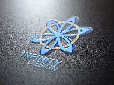 Infinity Design 3D Logo