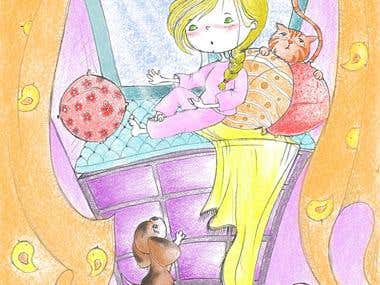 Children\'s books illustrations #3