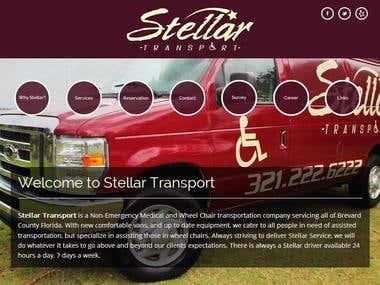 Medical Transportation Company Website