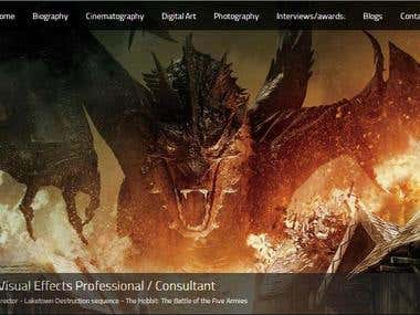Parallax Website