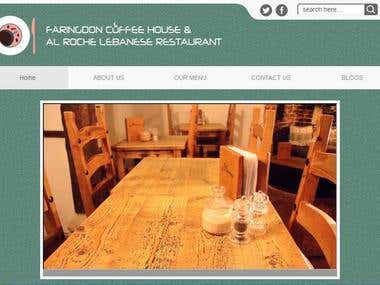 Restaurant Website / Hotel Website