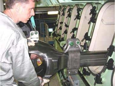 Conrod Installation  Me 35 ( Man Diesel)