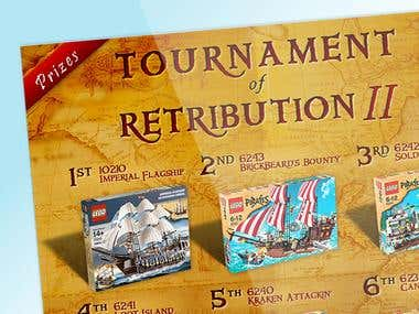 Tournament of Retribution Promo Graphics