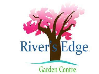 Logo for a garden centre