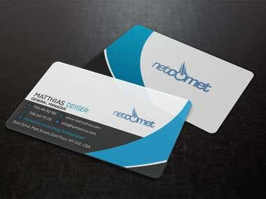 Design some Business Cards for me