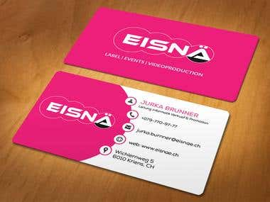 Create a visitcard for our business