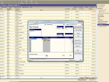 Quicken Cashbook