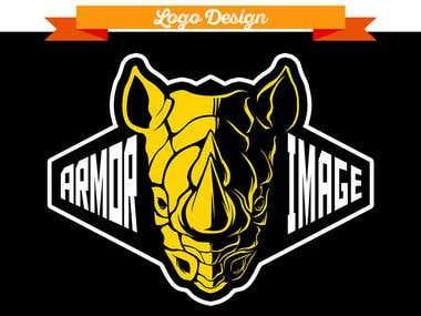 Armor Image Logo Design