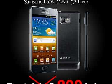 Samsung Ad for Black Friday