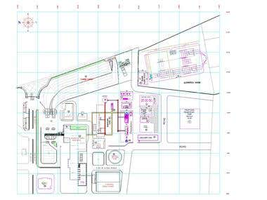 AutoCAD layout drafting