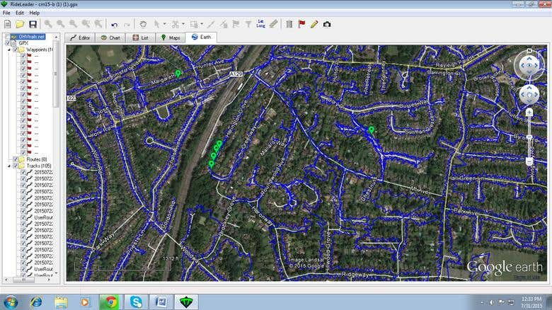 Google Earth Map Mapping   Freelancer