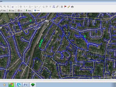 Google Earth Map Mapping