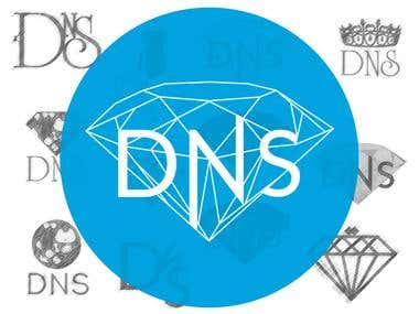 Logotype for DNS company