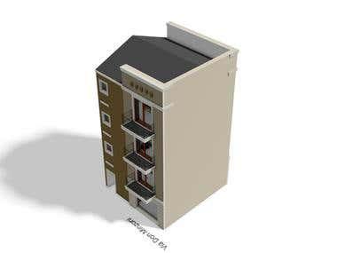 Renovation design - Exterior render